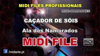♬ Midi file  - CAÇADOR DE SÓIS - Ala dos Namorados
