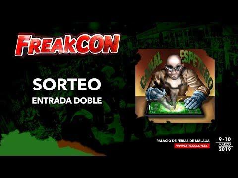 SORTEO ENTRADA 2 DIAS FREAKCON