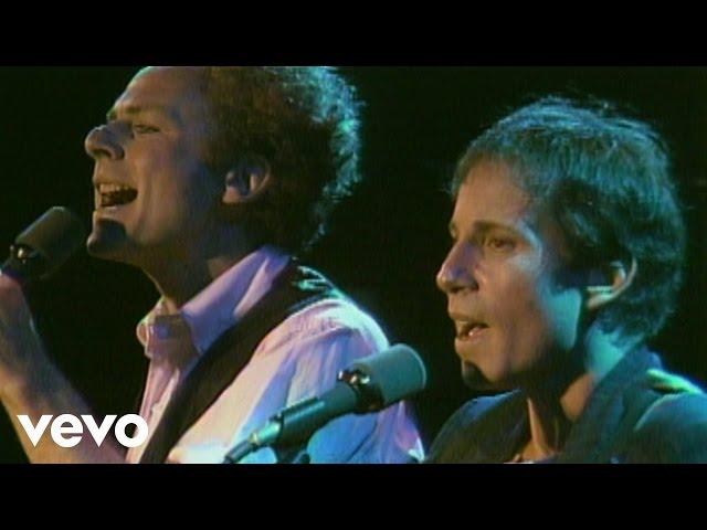 Video de un directo del tema the sound of Silence de Simon and Garfunkel