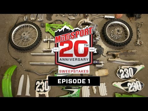 The MotoSport.com 20th Anniversary Sweepstakes | Episode 1
