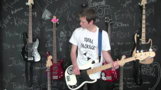 Punk Rock 101 (Bowling For Soup) Bass Cover