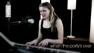 when the party's over - Billie Eillish - Anna M Johnson Cover