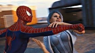 Spider-Man PS4 Silver Lining DLC - Spiderman vs Silver Sable Boss Fight