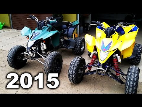Compilation best videos of 2015 - My quads - ATV in action