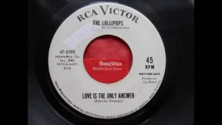 lollipops  -  love is the only answer