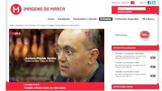 Prisca no programa Imagens de Marca - Sic Notícias