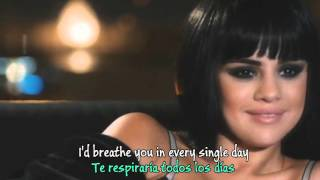 Selena Gomez - Hands to myself (Lyrics - Sub. Español) Video Official