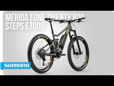 Discover the Merida eOne Twenty 800 with STEPS E7000 | SHIMANO