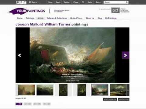 Un site Internet pour exposer les toiles du Royaume-Uni