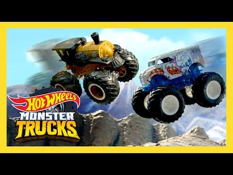 New Monster Trucks Island COMING SOON! Season 2 Trailer   Monster Trucks Island   Hot Wheels