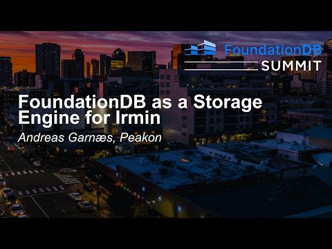 FoundationDB as a Storage Engine for Irmin - Andreas Garnæs, Peakon