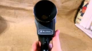 Bell & Howell Filmsonic 1223 Super 8 Sound Movie Camera