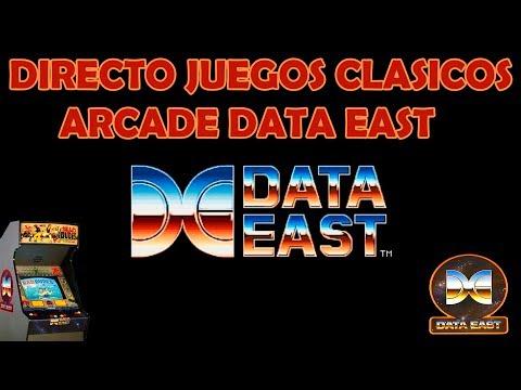 Directo juegos clasicos DATA EAST arcade #1