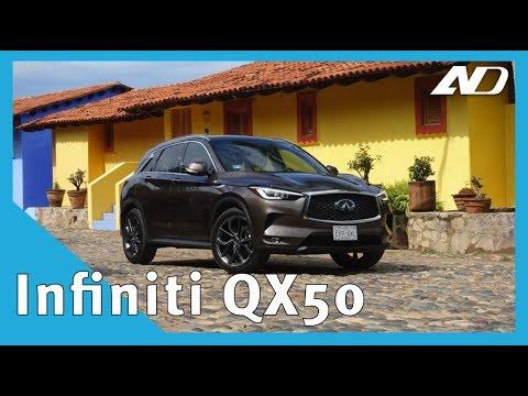 Infiniti QX50 - Cara bonita y corazón único - Primer vistazo