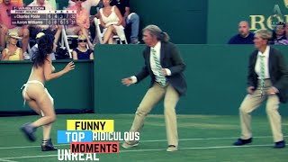 Tennis TOP5 - Most FUNNY Moments