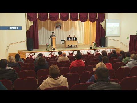 Глава района посетил Арлановский сельсовет