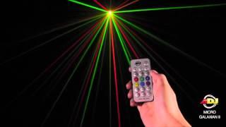 American DJ Micro Galaxian II Red & Green Laser