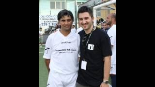 """Intervista Angelo Iannelli @ Partita del Cuore """"Un calcio al morbo di Parkinson"""""""