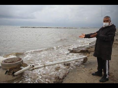 Ayvalık'ta yazlıklar için kıyı erozyonu tehdidi