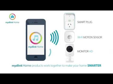 Make your home SMART with D-Link Smart devices