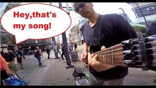 ZZ Top - La Grange - Live busking cover (Hottest guitar solo ever recorded!)