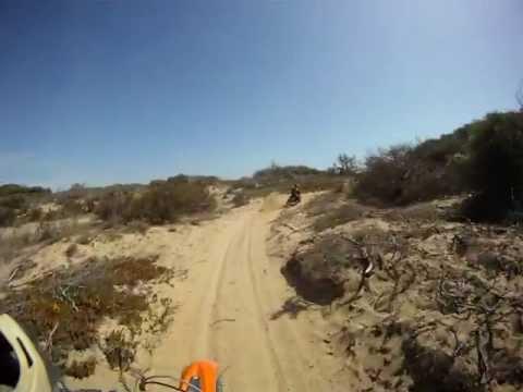 Essaouira Moto Trip, Sand trail for Cap Sim
