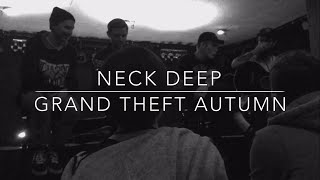 NECK DEEP - Grand Theft Autumn (Acoustic FOB cover) @ Muziekodroom, Hasselt (March 30, 2016)
