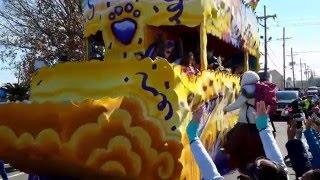 Carnaval de New Orleans usa 2016