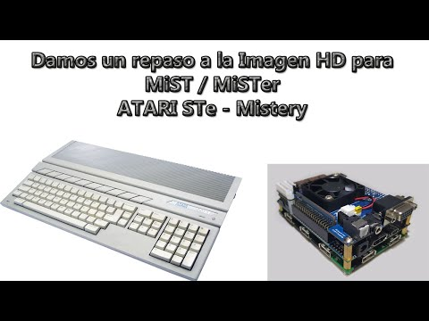 Repaso del core e imagen vhd para Atari ST/e (Mistery) para Mist/Mister.