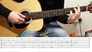Across The Universe (The Beatles) - Fingerstyle Guitar Cover With TABS