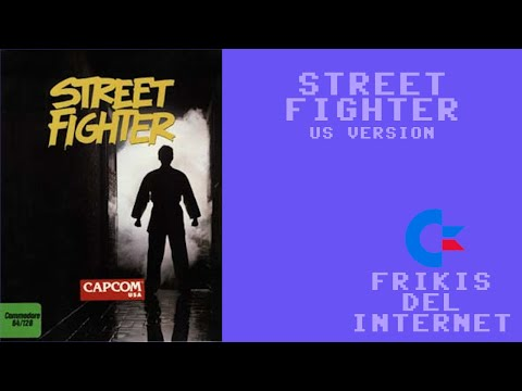 Street Fighter (US version) (c64) - Walkthrough comentado (RTA)