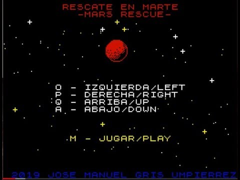 BITeLog 00B4: Rescate en Marte / Mars Rescue (ZX SPECTRUM) LONGPLAY
