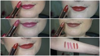 *NEW* Makeup Revolution Renaissance Lipsticks Swatches