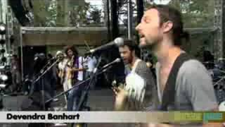 Devendra Banhart - In the Summertime (Live: Aug. 23, 2008)