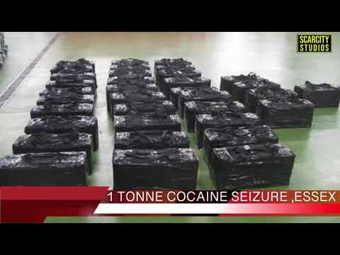 Cocaine discovered at a Thurrock,Essex Port by Border Police.