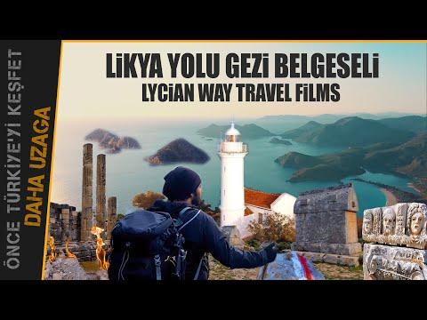 Likya Yolu Gezi Belgeseli, Lycian Way Travel Film