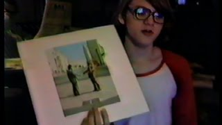 Showing Pink Floyd 'Wish You Were Here' Record Cover Art 1987 -(Weird Paul) Vinyl Album