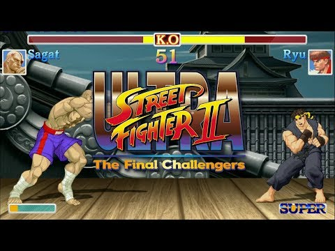 "Ultra Street Fighter II - SAGAT Arcade Mode, No continue, Dificultat ""Leyenda"" [Nintendo Switch]"