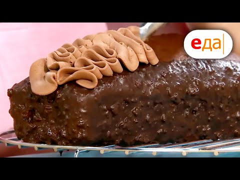 Роскошный шоколадный кекс! Дежурный пекарь
