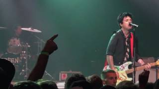 Green Day Christie Road Live at Tower Theater Upper Darby PA 9/29/16