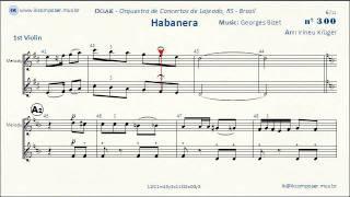Habanera - Carmen (Georges Bizet) - 1st Violin
