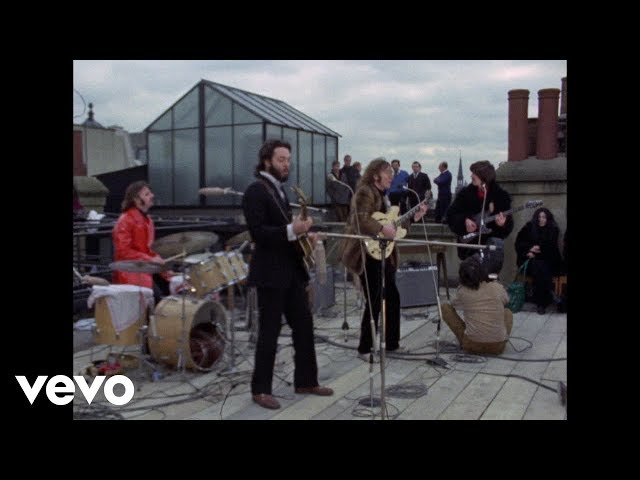 Video oficial del tema don't let me down de los Beatles