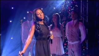 Alexandra Burke - The X Factor winner performs Hallelujah live!