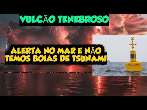400 Sismos no Vulcão Cumbrie - Tsunami na América do Sul é possível - Não temos boias de Alerta