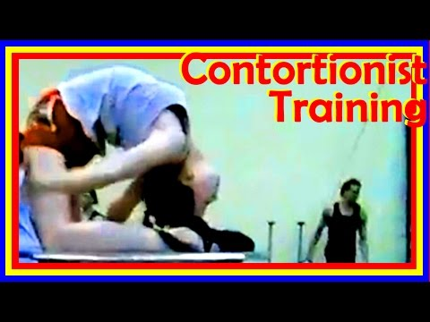 Beautiful Contortion Girls Long Compilation