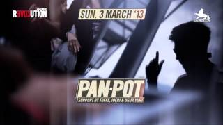 Sunday Revolution w Pan Pot @ La Rocca   Promo Video