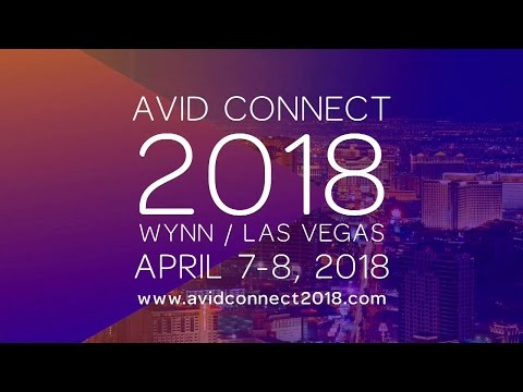Avid Connect 2018   Register today