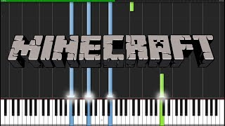 Subwoofer Lullaby - Minecraft [Piano Tutorial] (Synthesia) // Torby Brand