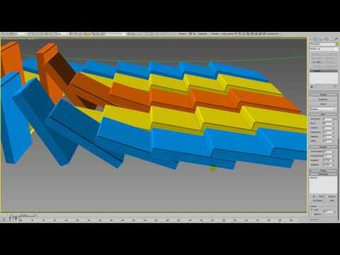 Sergey Movchan 'Domino effect TP tutorial
