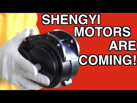 eBike Factory: Motors from Shengyi, Conversion and Mid-Drives